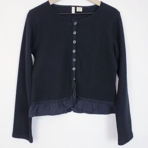 Anthropologie Moth 100% wool cardigan Medium